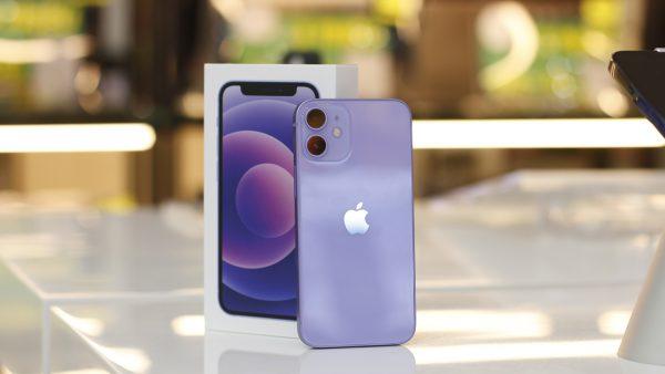 iPhone 12 màu tím mới chính thức lên kệ