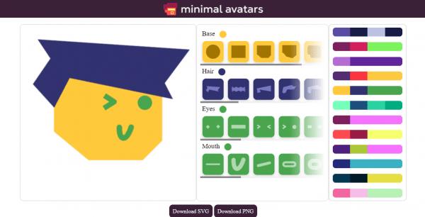 Thiết kế avatar độc lạ, dễ thương với Minimal Avatars