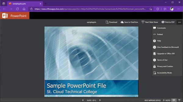 Cách xem tệp Word, Excel, PowerPoint không cần extension