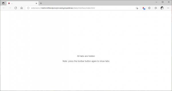 Cách ẩn nhanh toàn bộ tab đang mở trên Chrome