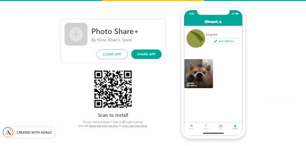 Photo Share Plus: Dịch vụ chia sẻ ảnh giống Instagram
