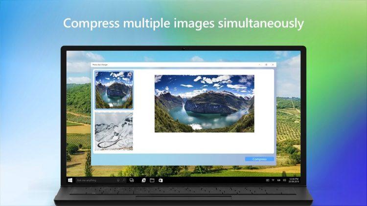 Ứng dụng nén file ảnh trên Windows 10 chưa tới 5 giây