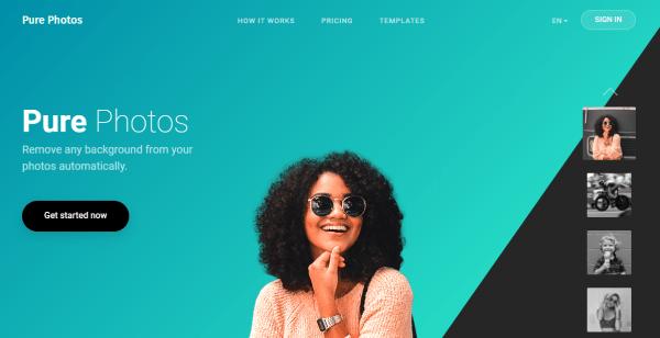 PurePhotos Background Remover: Tách nền, xử lý khuyết điểm trên ảnh miễn phí