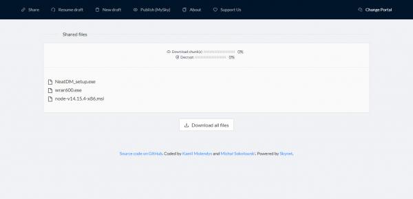 SkyTransfer: Lưu trữ, chia sẻ file chung miễn phí