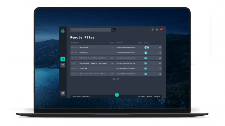 Surge: Phần mềm chia sẻ file mạng ngang hàng