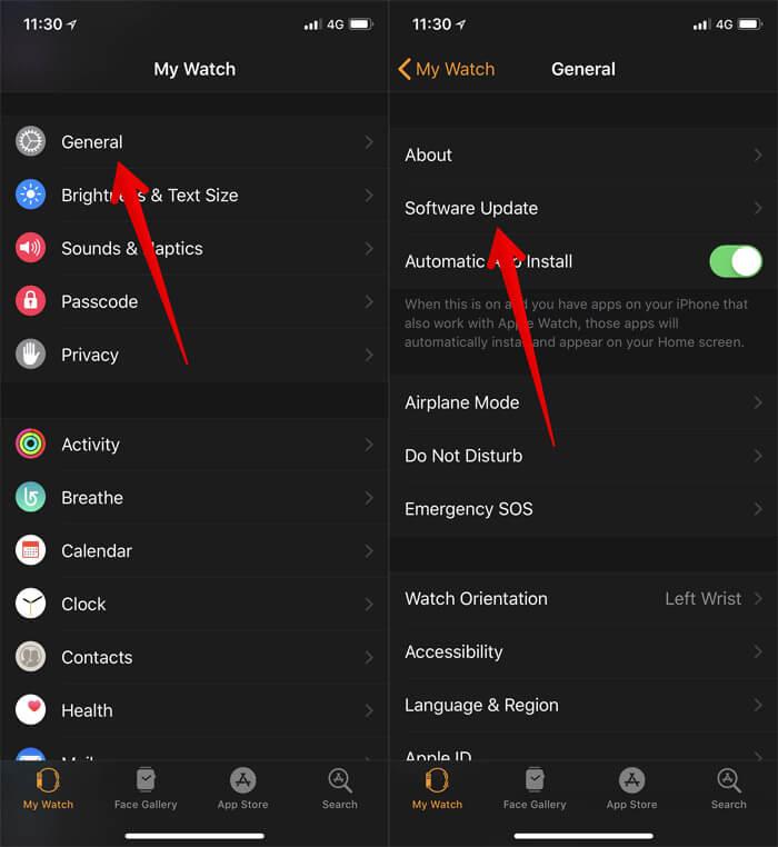 Cập nhật cả iPhone và Apple Watch của bạn