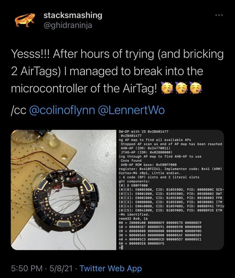Hack Airtag