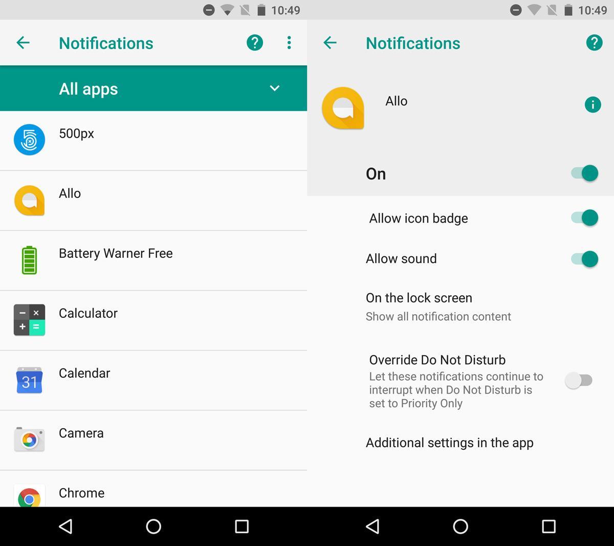 Cách tắt thông báo biểu tượng ứng dụng trên Android