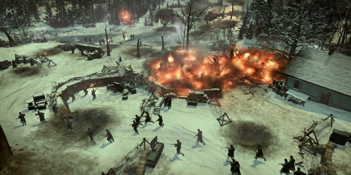 Đang miễn phí game Company of Heroes 2 cùng DLC Ardennes Assault và Case Blue Mission Pack