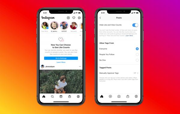 Facebook ra mắt tính năng ẩn số lượt thích trên Facebook và Instagram