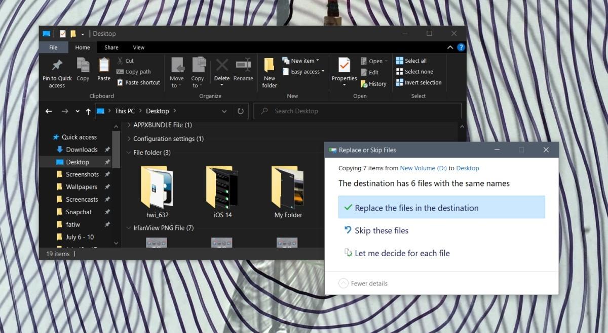 Cách gộp hai thư mục trên Windows 10
