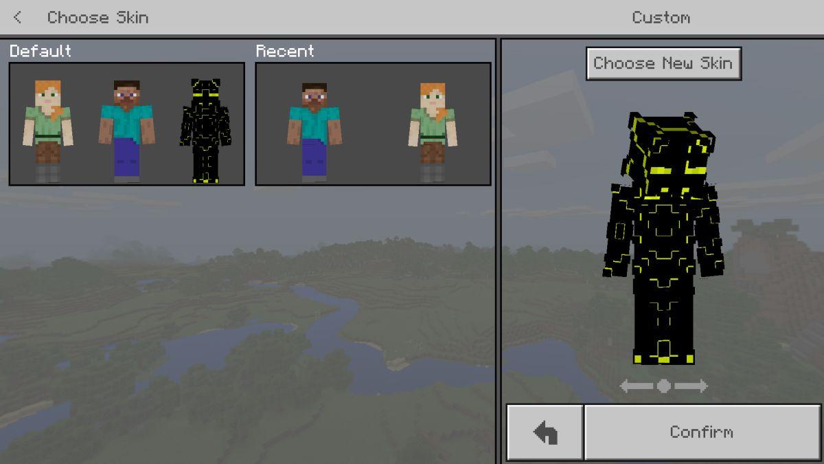 Cách cài đặt gói Skins và Texture trên Minecraft Windows 10 UWP