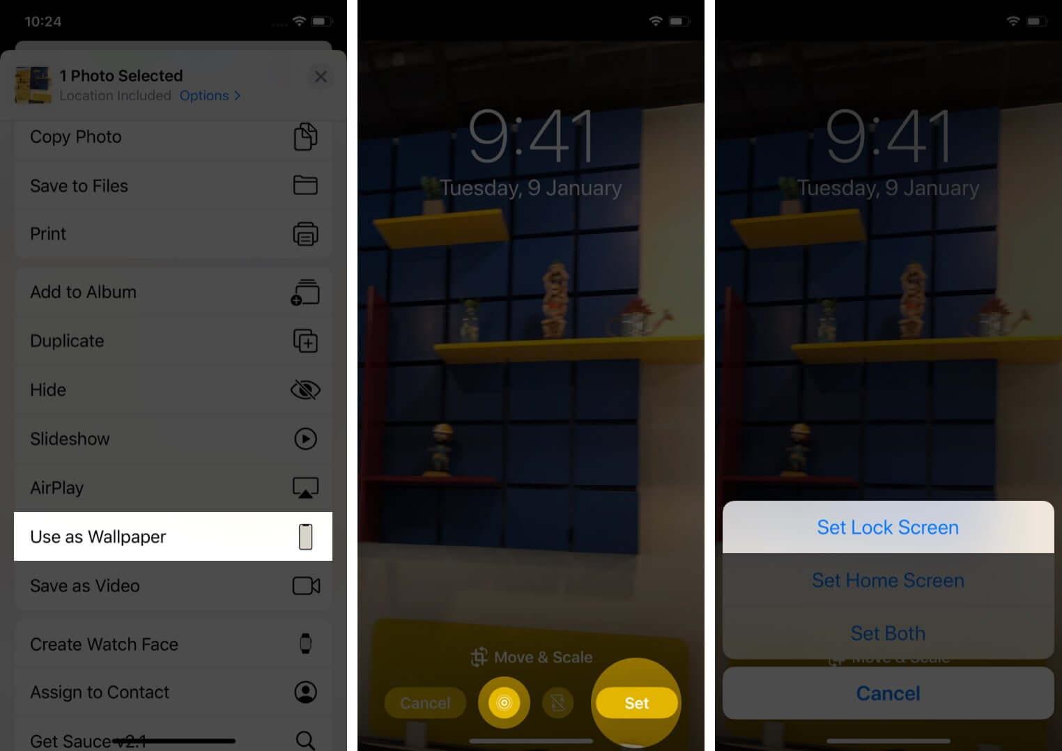 Cách sử dụng hình nền động trên iPhone