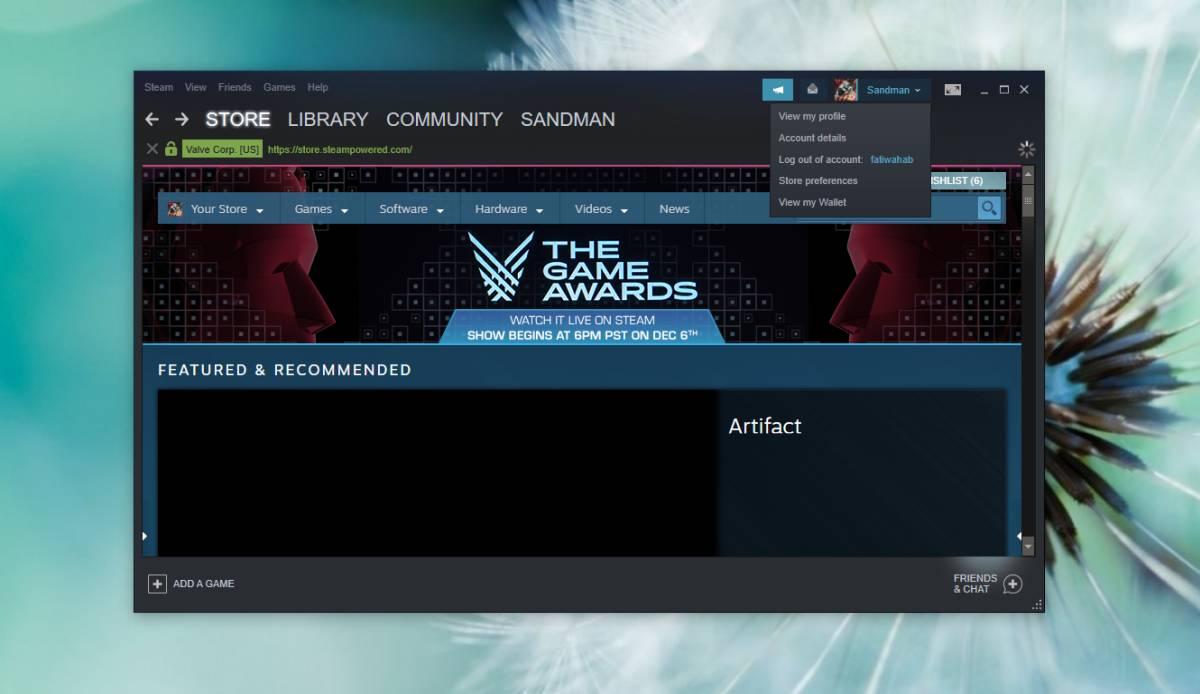 Thay đổi avatar trên Steam
