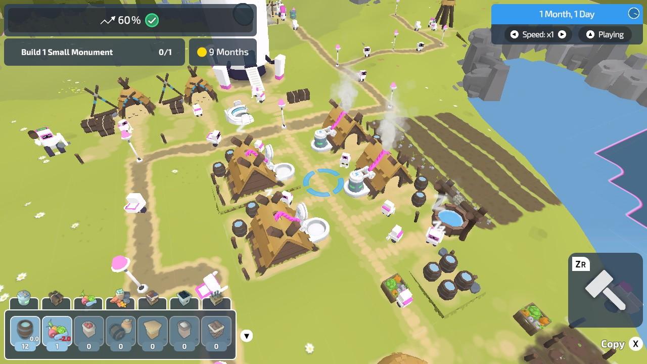 Đánh giá game The Colonists phiên bản Switch