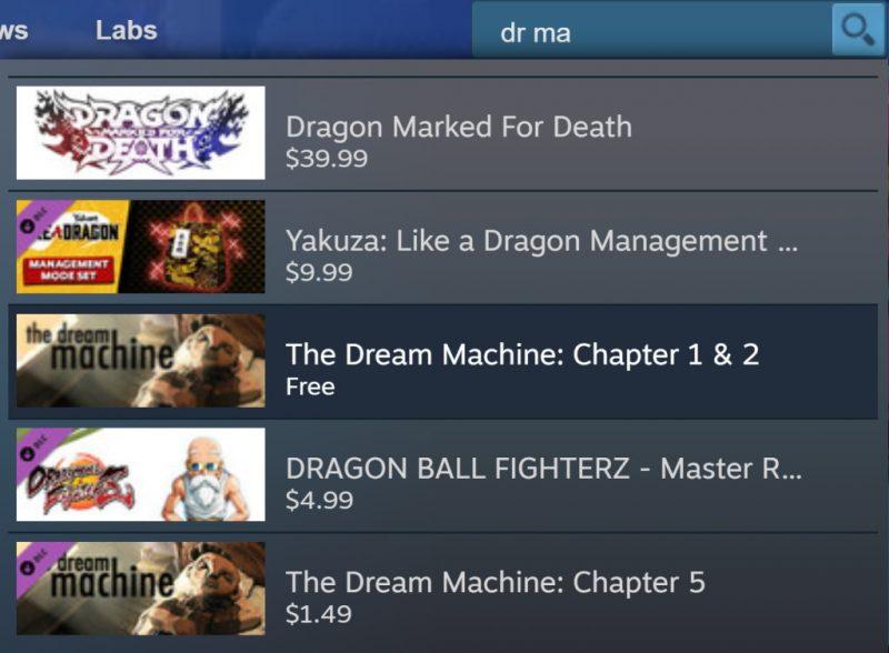 Đang miễn phí game The Dream Machine: Chapter 1 & 2