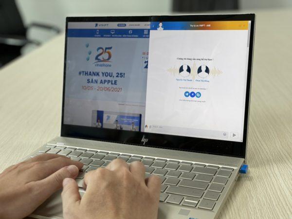 VNPT giới thiệu trợ lý ảo AMI giao tiếp một chạm thông minh