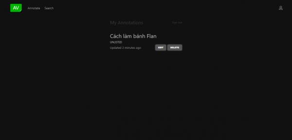 Cách chú thích, chèn liên kết lên video YouTube không cần extension