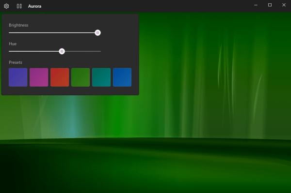 Aurora: Ảnh nền cực quang cực đẹp cho Windows 10
