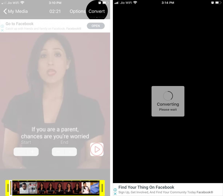 Sử dụng ứng dụng VideotoLive
