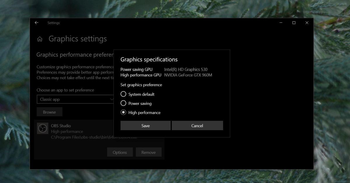 Cách buộc một ứng dụng sử dụng card đồ hoạ trên Windows