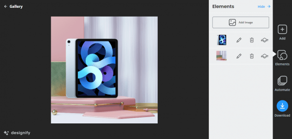 Designify: Thiết kế hình ảnh cho Shopee, Lazada, Tiki, Sendo,…