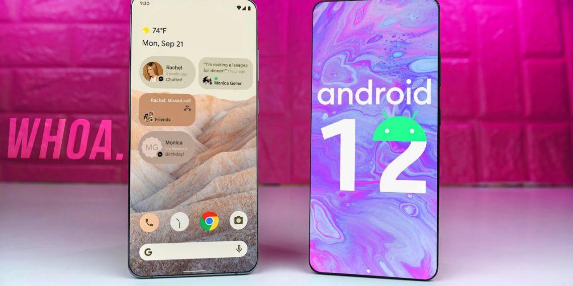 Cách cài đặt hình nền và tiện ích đồng hồ kiểu Android 12 trên mọi điện thoại Android