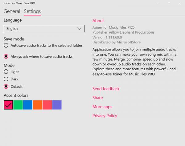 Joiner for Music Files PRO: Tạo nhạc mix cực dễ trên Windows 10