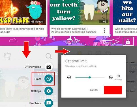 6 cách khóa trẻ em trên YouTube