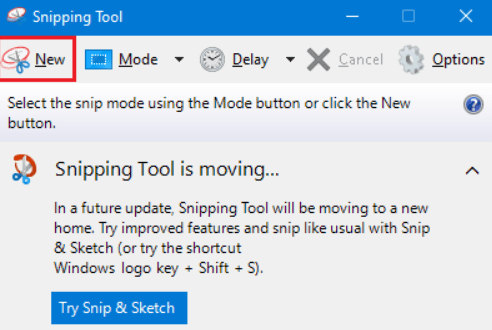 Windows 11 Snipping Tools