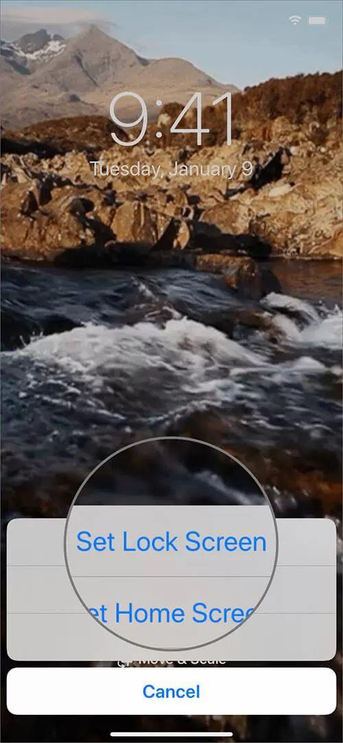Cách đặt file GIF làm hình nền động trên iPhone