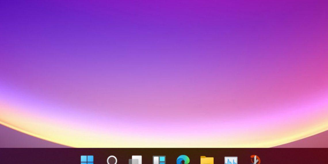 Cách biến thanh tác vụ Windows 10 theo phong cách Windows 11