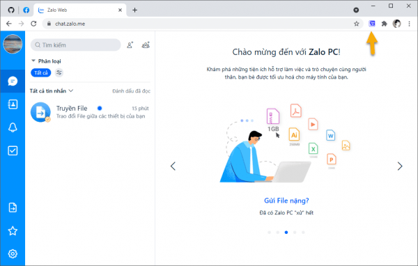 Cách ẩn trạng thái đã xem và đang nhập tin nhắn trên Zalo Web
