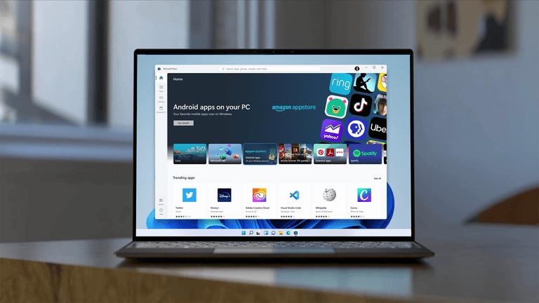 Ứng dụng Android trên Windows 11