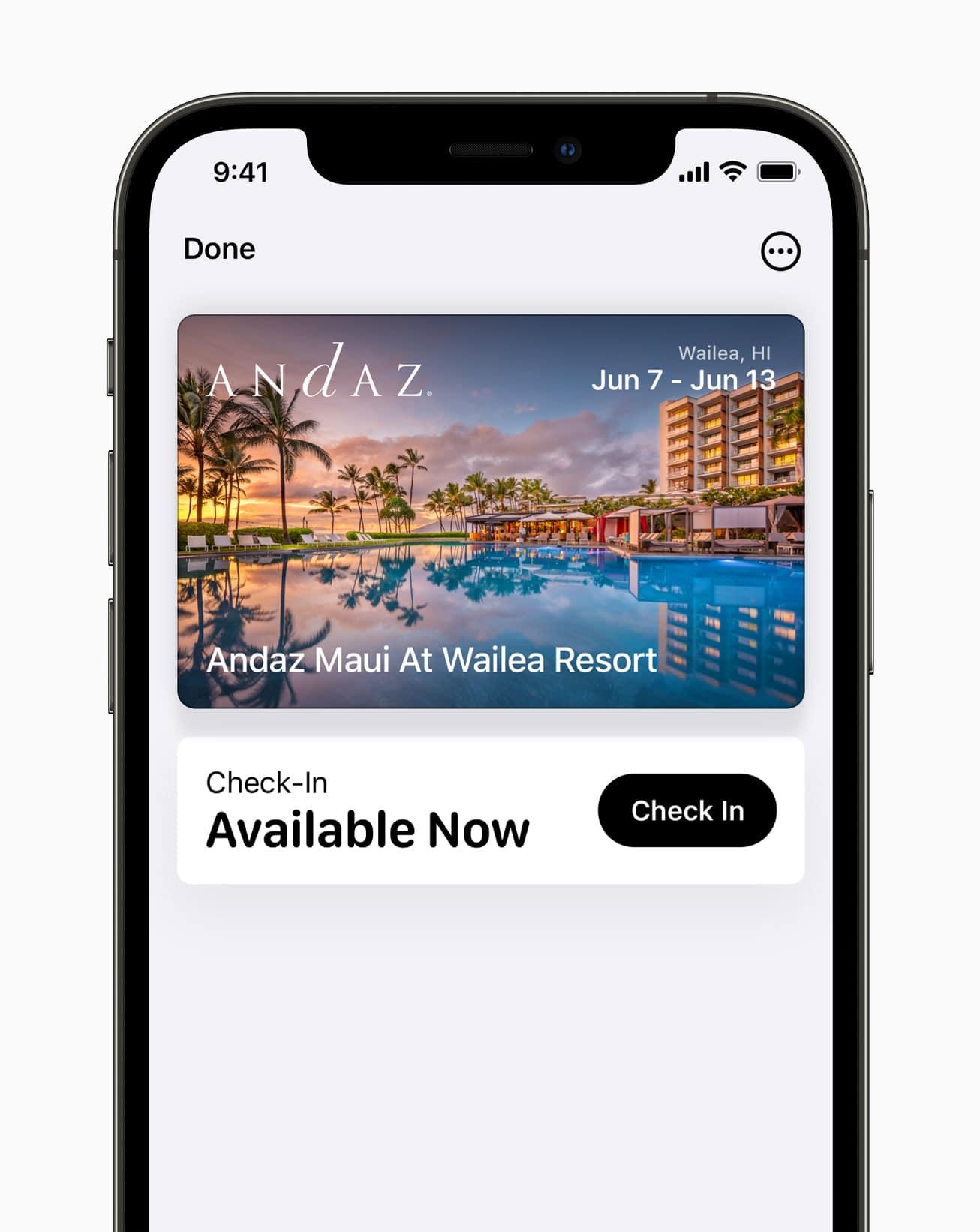 Apple Wallet trên iOS 15