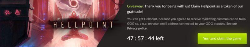 Đang miễn phí game Hellpoint