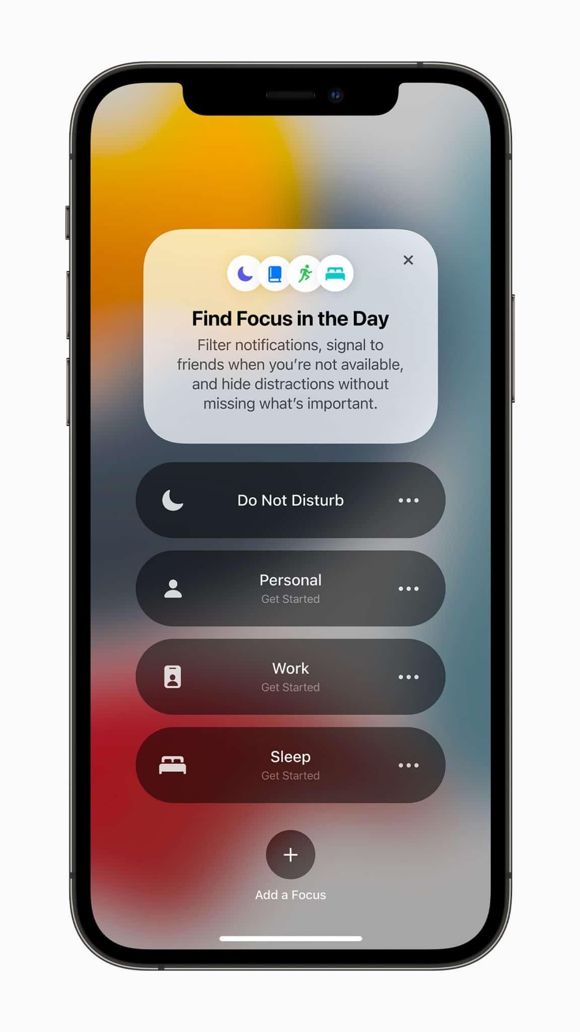 Tính năng Focus trên iOS 15