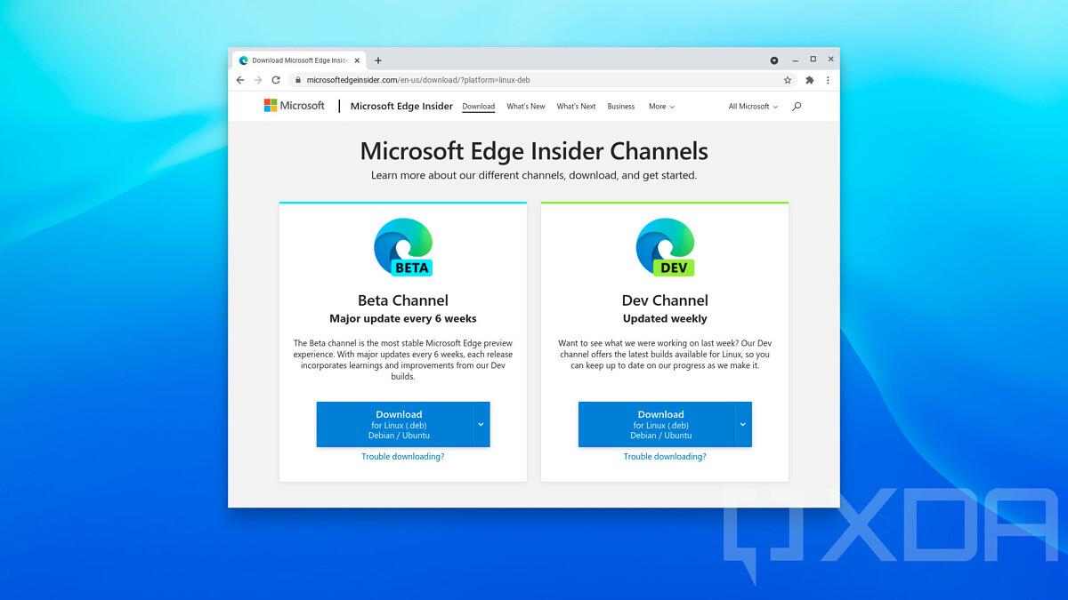 Microsoft Edge ChromeOS
