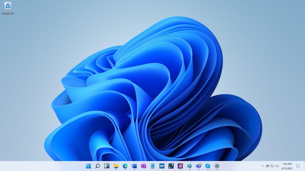 Windows 11: Những hình ảnh desktop đầu tiên