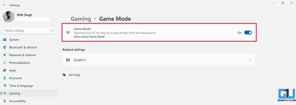 Cách bật Game mode trên Windows 11 để tăng hiệu suất khi chơi game