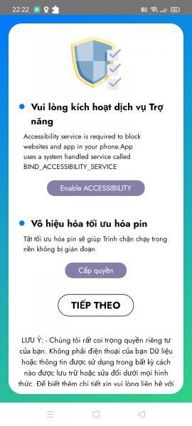 Blocker: Chặn web đen, ứng dụng mới cài đặt,… trên Android