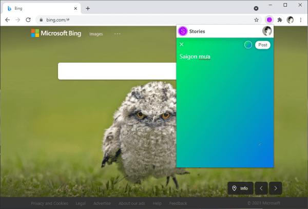 Browser Stories: Chia sẻ câu chuyện của bạn đến thế giới