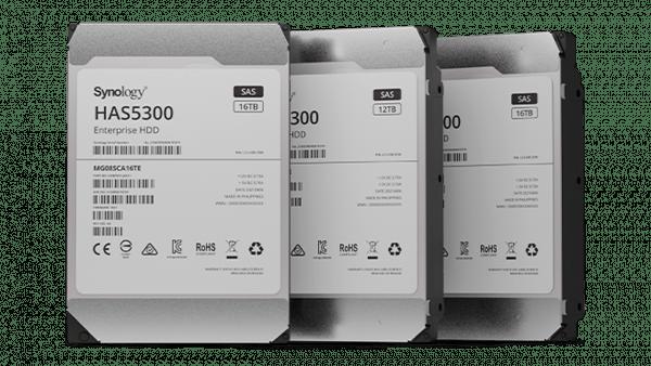Synology ra mắt ổ cứng dành cho doanh nghiệp SAS HAS5300