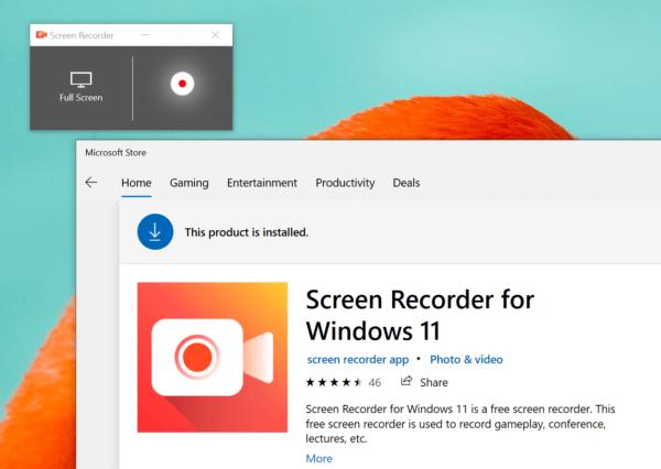 Screen Recorder for Windows 11: Ứng dụng quay video màn hình không giới hạn cho Windows 11