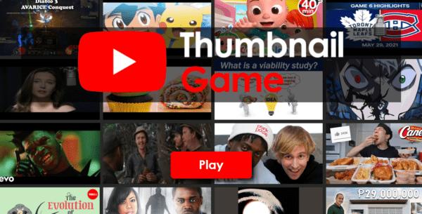 The YouTube Thumbnail Game: Trò chơi đoán video nào có lượt xem nhiều hơn