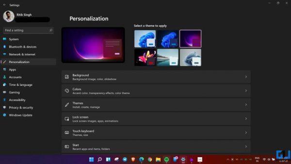 Cách tùy chỉnh Start Menu của Windows 11