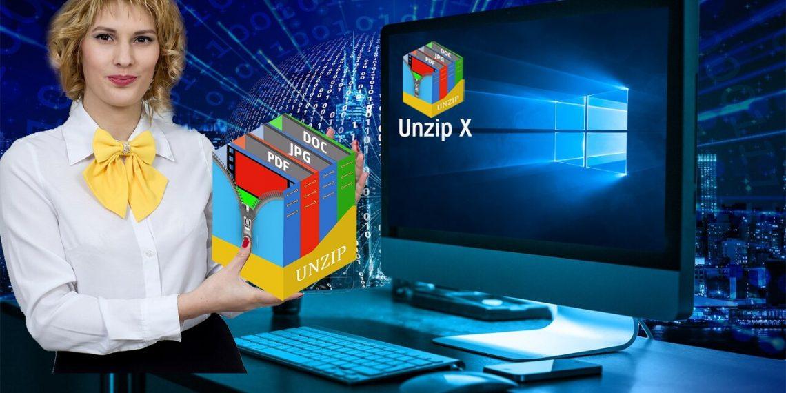 Unzip X: Ứng dụng nén, giải nén hơn 200 định dạng file miễn phí cho Windows 10