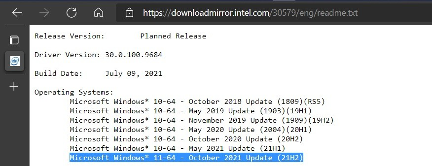 Ngày phát hành Windows 11