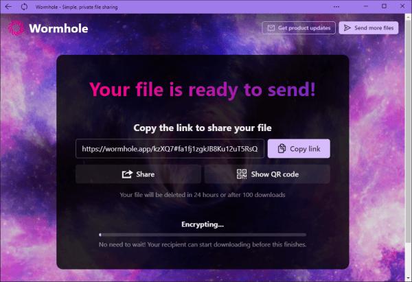 Wormhole đã có mặt trên Microsoft Store