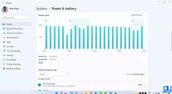 Cách kiểm soát mức sử dụng pin của ứng dụng trên Windows 11